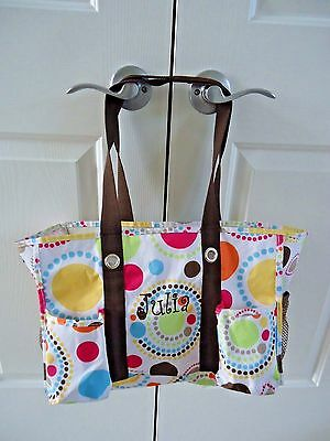 "Thirty-One Utility Tote ""Julia"" Circles"