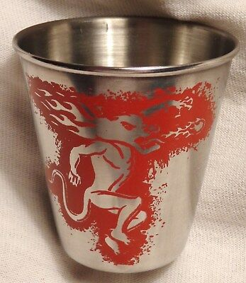Fireball Cinnamon Whisky - Shot Glass - Stainless Steel - Choice of Letters..NEW