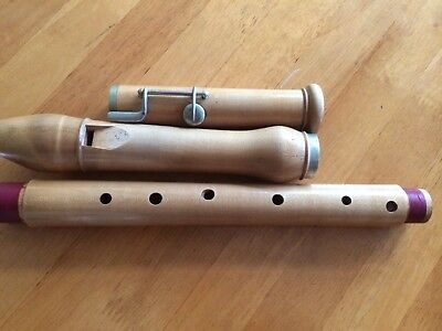 Historic Tenor Recorder In C German Fingering