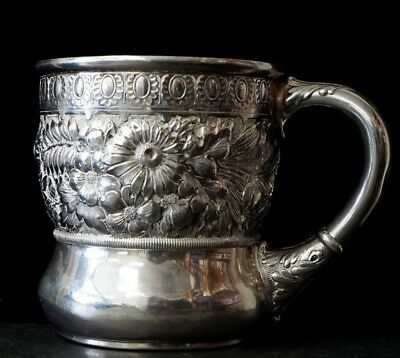 Antique Wood & Hughes Sterling Silver Cup