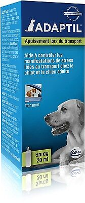 ADAPTIL D.A.P. 20 ml Travel Spray Dog Puppy Anxiety Stress Behavior Relief