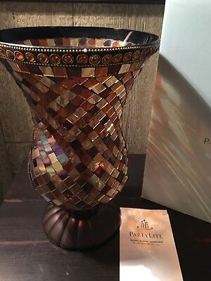 PartyLite Global Fusion Hurricane P8366 New in Box!