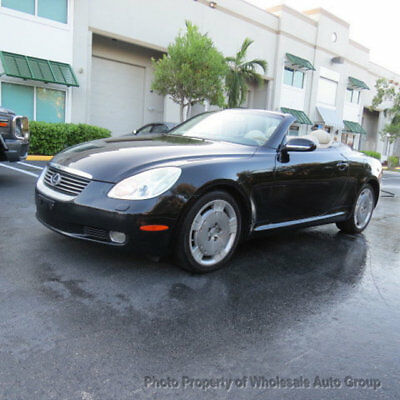 2005 Lexus SC 2dr Convertible MINT CONDITION. FRESH TRADE IN. MUST SEE. PERFECTLY WELL SERVICED