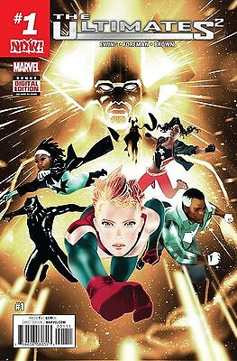 The Ultimates 2 #1 Marvel NOW! 2016 First Print Regular Cover