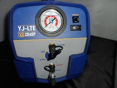 Yellow Jacket 95730 Yj-Lte Refrigerant Recovery System Good Condition No Reserve