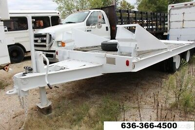 1999 Trail-Eze D10R20 Equipment Trailer Used