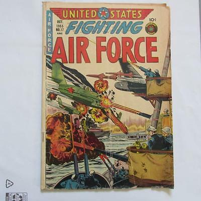 United States Fighting Air Force 17 GD/VG SKUB24274 25% Off!