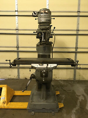 LOWER STARTING PRICE!!!  Bridgeport Vertical Mill with Shaping Head