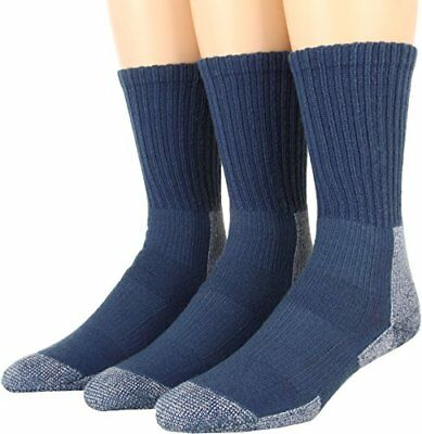 Thorlos Women's Trail Hiking Crew 3 Pair Pack Dust Blue Socks MD (W...
