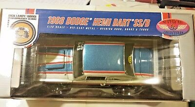 Supercar Collectibles Dodge 1968 Hemi Dart SS/B 1:18 Scale Die Cast Issue #2 vt