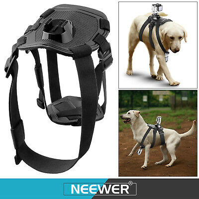 Neewer Pet Dog Chest Harness Accessories Kit for GoPro Hero4 Session Hero 4 3+
