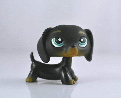 Pet Dachshund  Dog Child Girl Figure Littlest Toy Loose LPS850