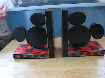 Set of Mickey Mouse Bookends