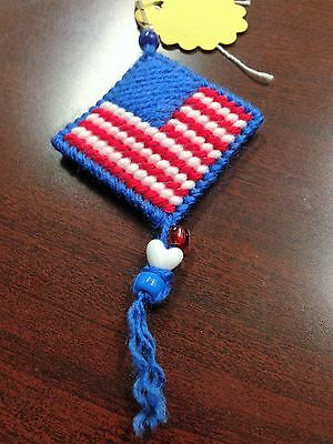 1 Pcs FLAGS KEY CHAIN HANDCRAFTED BY CELIANA