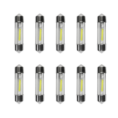 10x 36mm LED Soffitte COB SMD Canbus C5W weiß Auto KFZ Innenraumbeleuchtung 12V
