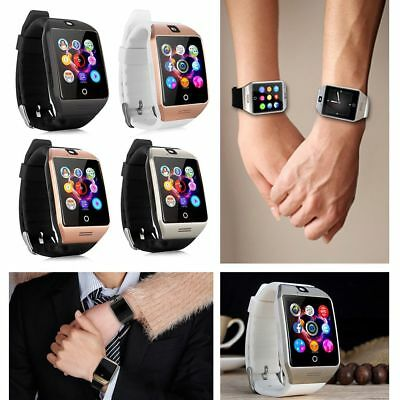 Touch Screen Bluetooth Smart Wrist Watch Q18 For Android IOS iPhone Phone CA NEW