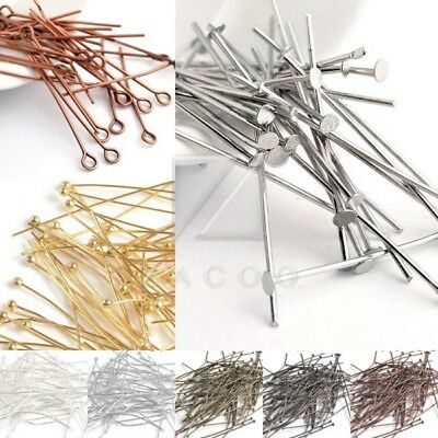100pcs Wholesale Ball Pins Jewellery FindingsCraft Needles 25/35/40/50mm