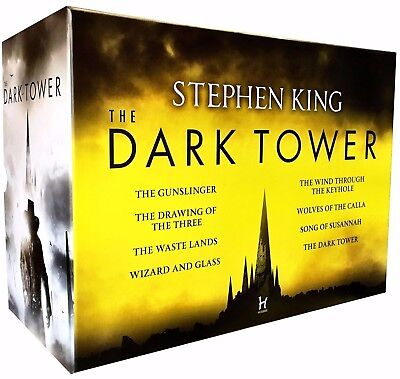 The Dark Tower 8 Books Collection Box Set [8 Books] by Stephen King ✔NEW✔