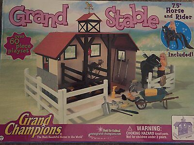 Grand Stable Playset