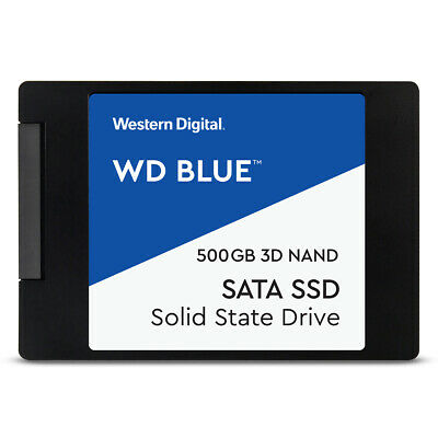 WD Blue 3D NAND SATA SSD 500GB 2.5 Zoll - interne Solid-State-Drive