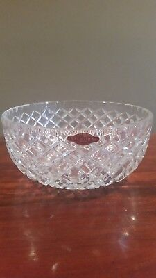 Balmoral crystal bowl