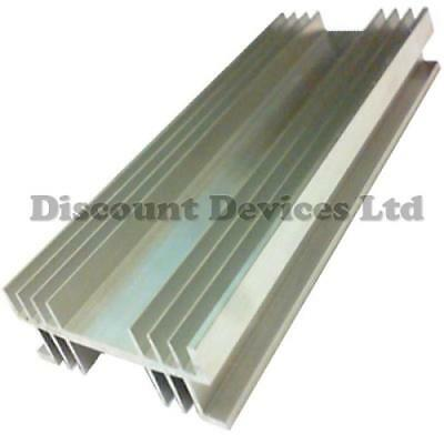 Large Aluminium Heat Sink Power Amplifier/Supply/Transistor/IC/FET/PA (62015)