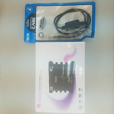 XOX K10 USB Independent sound card with XOX MA2 Live Stream Streaming Adaptor