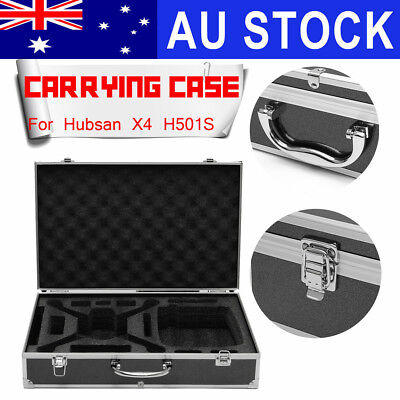 AU Waterproof Hard Case Hand Bag Carry Box For RC Hubsan X4 H501S FPV Quadcopter