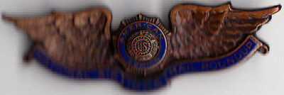 National Air Mail Roundup 1956 Wings Pin - American Legion - U.S.Post Office