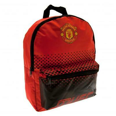 Manchester United Junior Backpack School Bag Official Licensed Football Product