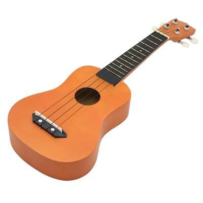 Beautiful 21'' Orange Color Ukulele Hawaii Guitar Musical Instrument Basswood