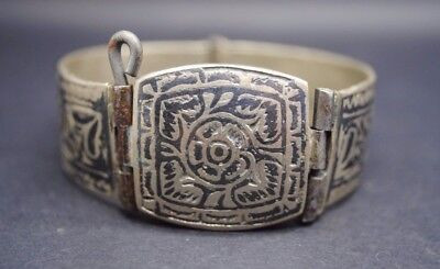 Post Medieval Silver Decorated Bracelet