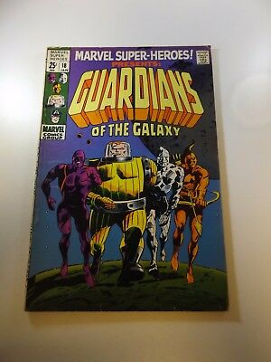 Marvel Super-Heroes #18 1st Guardians of the Galaxy FN- condition
