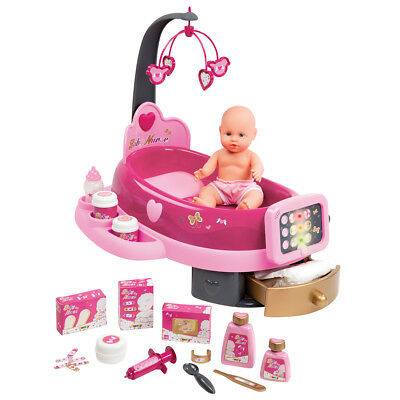 Smoby Baby Nurse Electronic Nursery Play Set 22 Accessories Age 3+ Years