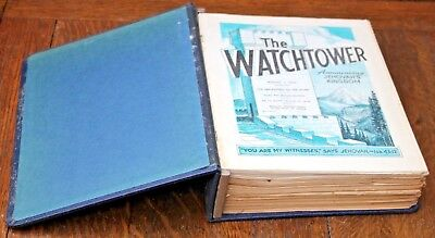 The Watchtower folder +  magazines 1970  Jan-Dec 1st + 15th 24 issues Jehovah
