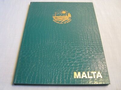 MALTA STAMP ALBUM 1977-1983 146 New Uncirculated Stamps MINT