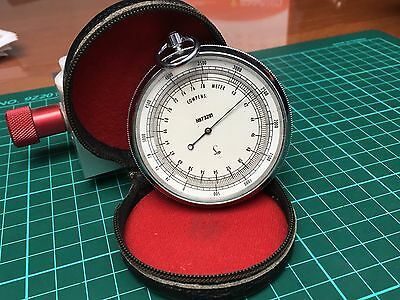 ANTIQUE LUFFT WRIST ALTIMETER - serial 73281 - Leather Case
