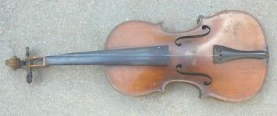 antique  full size 4/4 violin James V Weiss label