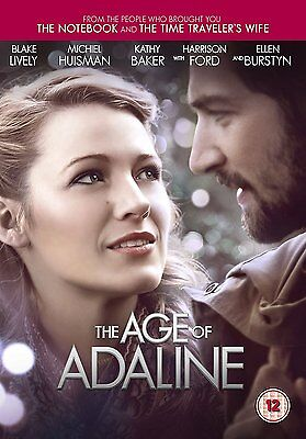 The Age Of Adaline [DVD] [2015] Blake Lively Brand New Sealed