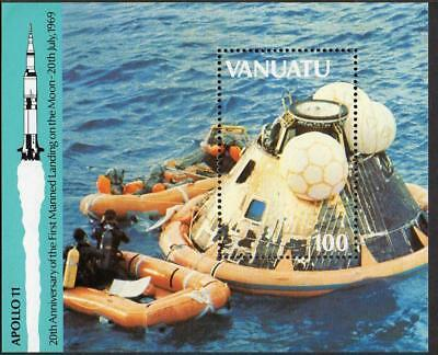 Vanuatu MNH 1989 20th Ann of the First Manned Landing on the Moon M/S