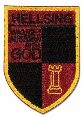 Patch - Hellsing Ultimate - New Hellsing Crest Anime Toys Licensed ge44560