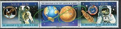 Niue MNH 1989 20th Ann of the First Manned Landing on the Moon
