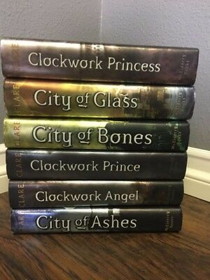 Lot of 6 Hardcover Books By Cassandra Clare ~ Mortal Instruments Series