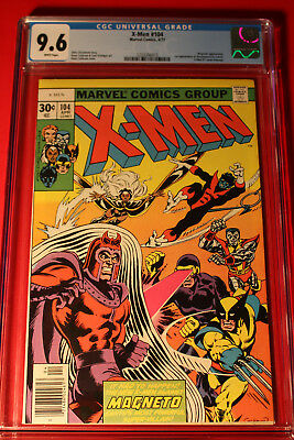 X-Men #104 Cgc 9.6 Nm+ W Pages Uncanny Wolverine Marvel Comics Spider-Man