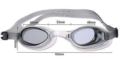 Professional Adult Swimming Goggles Glasses Anti-fog UV Protection Adjustable