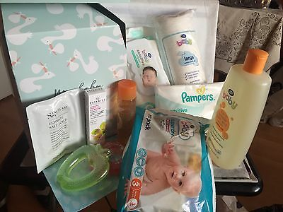Boots baby bundle Set/For Mum & Baby/9-Items/Mother GIFT/Holidays/Birthday/Party