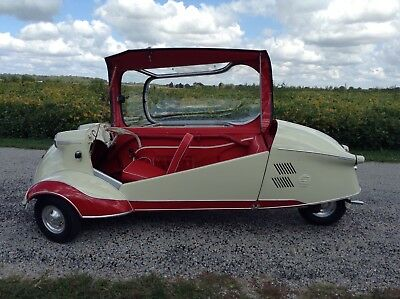 1956 Messerschmitt G80 KR200 1956 Messerschmitt Mini Car 3-wheel Car Restored