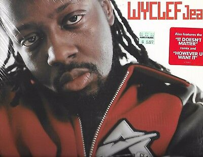 Wyclef Jean-It Doesnt Matter-Columbia Records-Sealed Single-Mint