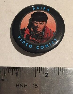 Akira Movie Button 1989 Super Rare Giveaway By Streamline Pictures N-Mint