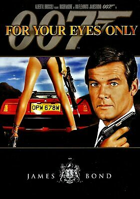 For Your Eyes Only (James Bond 007; DVD; 1981) Factory Sealed [Brand New]